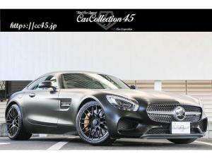 メルセデスAMG GT S マットブラックボディラッピング AMGダイナミックP/エクスクルーシブパッケージプラス/インテリアカーボンP/パフォーマンスシート/レーダーセーフティP カーボンセラミックブレーキ 地デジチューナー