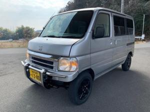 ホンダ バモス L 4WD 5MT ヒッチメンバー 社外バンパー