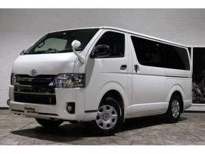 トヨタ ハイエースバン スーパーGLDプライムナビDレコE/Gスタータ-リア修復少