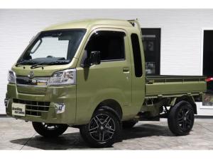 ダイハツ ハイゼットトラック ジャンボSAIIIt スマートアシストIII・4AT・4WD・2インチリフトアップ・14インチAW・SDナビ・レーダー・LEDヘッドフォグ・LED荷台灯・リアフィルム・ワンオーナ