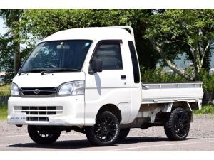 ダイハツ ハイゼットトラック ジャンボ 4WD リフトアップ 新品マッドタイヤ 14インチアルミ 三方開き