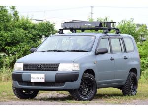 トヨタ プロボックスバン DXコンフォートパッケージ リフトアップ マッドタイヤ 15インチホイール 艶消しペイント ルーフラック