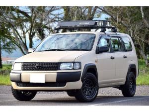トヨタ プロボックスバン DXコンフォートパッケージ リフトアップ オーバーフェンダー ルーフラック スポーツマフラー