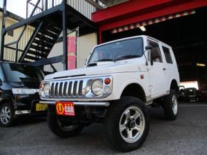 スズキ ジムニー HA 4WD ターボ 5速MT リフトアップ レカロシート メッキグリル