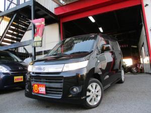 スズキ ワゴンRスティングレー X フルエアロ キセノンR プッシュスタート スマートキー インパネシフト CVT タイミングチェーン