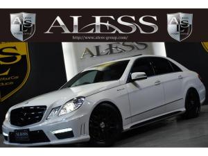 メルセデス・ベンツ Eクラス E300アバンギャルド黒革SR 右H E63仕様 TSW20