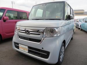 ホンダ N-BOX L 届出済未使用車 軽減ブレーキ プッシュエンジン LEDライト