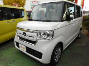 ホンダ N-BOX Gセンシング 届出済未使用車 軽減ブレーキ プッシュエンジン LEDライト