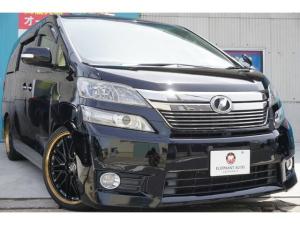トヨタ ヴェルファイア 2.4X Wサンルーフ新品20アルミ&タイヤ社外LEDテール