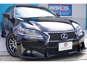 レクサス GS GS450h Fスポーツ 1オナ本革サンルーフ純正ナビ車高調
