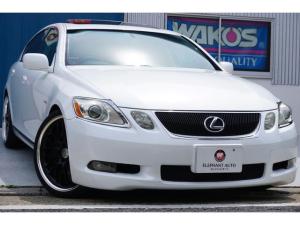 レクサス GS GS350 ユーザー様買取車 ムーンルーフ WORK20インチAW ローダウン