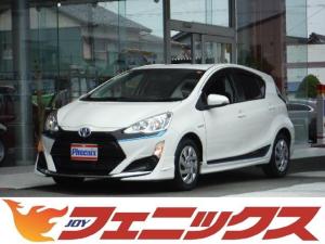 トヨタ アクア S モデリスタエアロ ナビ TV バックカメラ スマートキー