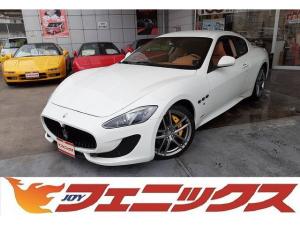 マセラティ グラントゥーリズモ スポーツ MCオートシフト ディーラー車・パドルシフト・20アルミ・ナビTV・ETC・バックモニター・