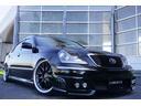 トヨタ/クラウンマジェスタ 新品フルエアロ 新品20AW エアサス 黒革調 LBコンプ