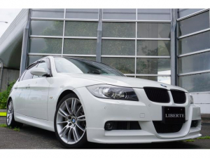 BMW 3シリーズ LBコンプ Fエアロ Mスポ18AW 黒本革 サンルーフ
