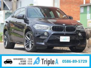 BMW X6 M ベースグレード ワンオーナー 正規ディーラー 21インチAW LEDヘッド X6M専用エアロ 純正ナビ フルセグ Bluetooth 360°カメラ 黒革シート harman/kardon レーンチェンジウォーニング