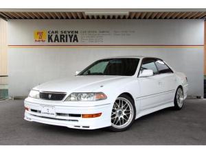 トヨタ マークII ツアラーV 純正5速/後期型/HKS車高調/バイパーセキュリティ/トラストインタークーラー/TRDマフラー/レカロセミバケ/純正エアロ
