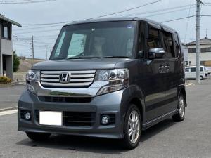 ホンダ N-BOXカスタム G・Lパッケージ 新品タイヤ・フルセグTV・左側電動ドア・PUSH・純正アルミホイール