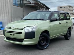 トヨタ プロボックス DXコンフォート ツートン・リフトアップ・オフロードタイヤ