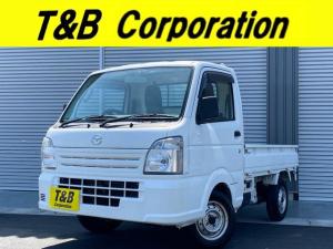 マツダ スクラムトラック KCエアコン・パワステ オートマ・1年保証・ETC・エアバック
