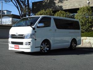 トヨタ ハイエースバン ロングスーパーGL 社外テール ローダウン HDDナビ