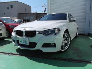 BMW 3シリーズ 320d Mスポーツ 純正HDDナビ Bカメラ インテリジェントセーフティ アクティブクルーズコントロール 禁煙車 HIDヘッドライト ディーゼル プッシュスタート 車検令和4年9月10日 アイドリングストップ