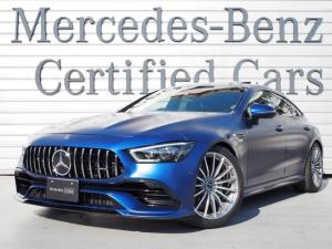 メルセデスAMG GT 4ドアクーペ 43 4マチック+ エクスクルーシブパッケージ・AMGブラックナッパレザーシート・ガラススライディングルーフ・AMG20インチホイール・マフラーサウンドリモコン切替・KW車高調・リアバンパースポイラー・ドライブレコーダー