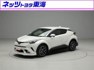 トヨタ C-HR HV G ワンオーナー 禁煙車 LEDヘッド 社外品エアロ