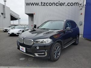 BMW X5 xDrive 35d xライン 黒革 リアモニター2個
