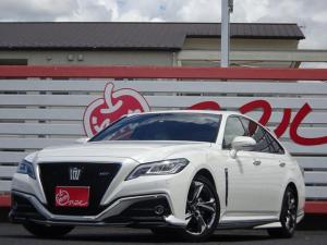 トヨタ クラウン RS・TRDエアロ・ホワイトレザー・サンルーフ・禁煙車