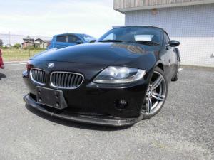 BMW Z4 2.5i 黒革 電動オープン 社外18インチアルミ