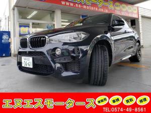 BMW X6 M ベースグレード レザーシート・前後シートヒーター・電動リヤゲート・21インチAW・純正ナビ・バックカメラ・全周囲カメラ・コーナーセンサー・新車保証