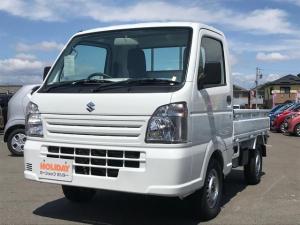 スズキ キャリイトラック KCエアコン・パワステ 5速MT 4WD 軽トラック 届出済未使用車