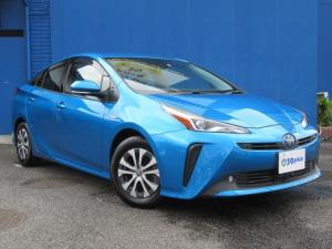 トヨタ プリウス A Bluetooth対応ナビ取付/衝突軽減ブレーキ/LEDヘッドライト/レーンアシスト/クリアランスソナー/パワーシート/ETC/クルーズコントロール/オートハイビーム