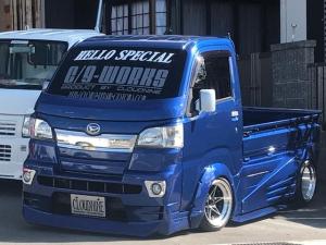 ダイハツ ハイゼットトラック STD ハロースペシャルデモカー 5速マニュアル 車高調