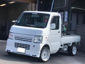 マツダ スクラムトラック KCエアコン・パワステ 5速マニュアル 社外15AW 車高調