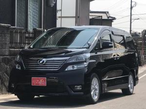 トヨタ ヴェルファイア 2.4Z プラチナムセレクション 社外HDDナビ ETC