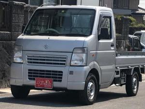 スズキ キャリイトラック KCエアコン・パワステ 4WD 5速マニュアル 軽トラック