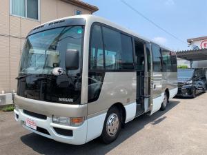 日産 シビリアンバス  29人乗り ディーゼル 5MT マイク付き オートスライドドア バックカメラ ドライブレコーダー 元公用車 ETC スタッドレスタイヤ付き
