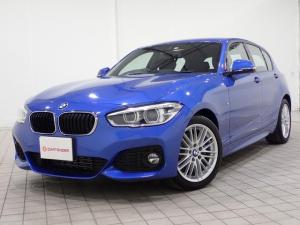 BMW 1シリーズ 118i Mスポーツ ターボ ナビ Bluetooth対応 LEDヘッドランプ オートライト クリアランスソナー