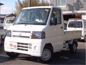 三菱 ミニキャブトラック みのり 4WD 5速MT エアコン・パワステ 車検整備付き