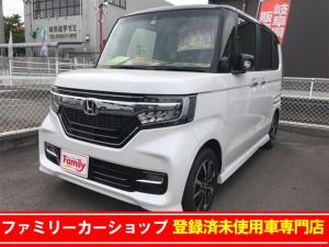 ホンダ N-BOXカスタム G・Lホンダセンシング 軽減ブレーキ ベンチシート Bカメラ
