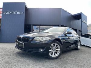 BMW 5シリーズ 528i 黒革SRコンフォートアクセスシートヒーター