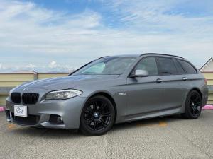 BMW 5シリーズ 523iツーリング Mスポーツパッケージ 純正HDDナビ フルセグTV バックカメラ パワーリアゲート パークディスタンス コンフォートアクセス プッシュスタート パワーシート
