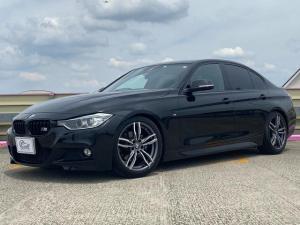 BMW 3シリーズ 320d Mスポーツ M3仕様 衝突軽減 レーン警告 ワーク18AW KW車高調KIT グループエムエアクリーナー レムススポーツマフラー M3純正テール M3カーボンスポイラー