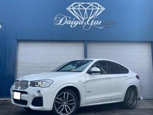 BMW X4 xDrive 28i Mスポーツ ドライブレコーダー ETC ナビ テレビ 電動リアゲート 本革パワーシート 4WD コーナーセンサー アイドリングストップ 右ハンドル ディーラー車 純正19インチアルミ