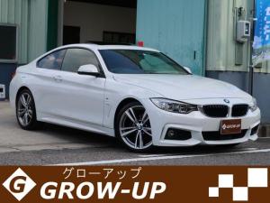 BMW 4シリーズ 420iクーペ Mスポーツ サンルーフ 赤革 OP19AW