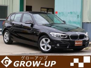 BMW 1シリーズ 118d スポーツ 後期モデル パーキングサポート&コンフォートパッケージ ワンオーナー タッチパネル対応純正ナビ・バックカメラ LEDヘッドランプ スマートキー インテリジェントセイフティ 車検令和4年8月まで