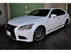 レクサス LS LS600h Fスポーツ プリクラッシュ/黒革シート/シートヒーター/シートエアコン/パワートランク/LEDヘッドライト/