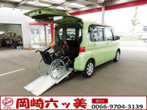 ダイハツ タント スローパー リヤシート付 福祉車両 12ヵ月保証